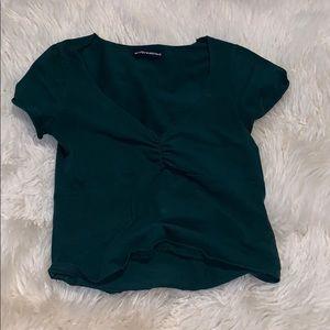 Brandy Melville green top